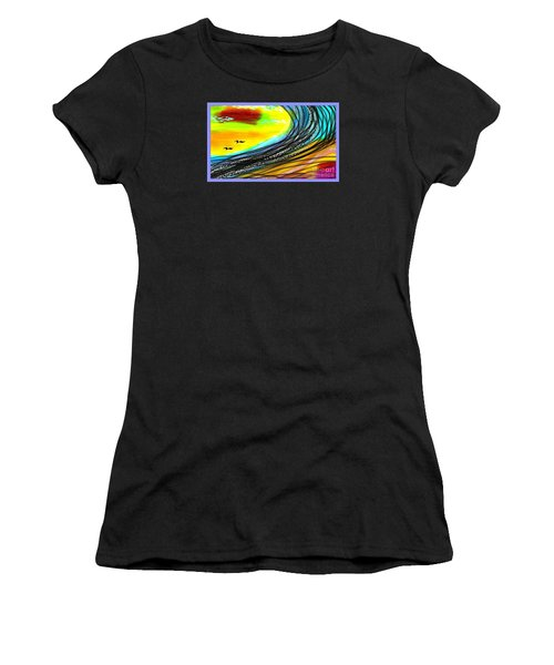Sea Women's T-Shirt (Athletic Fit)