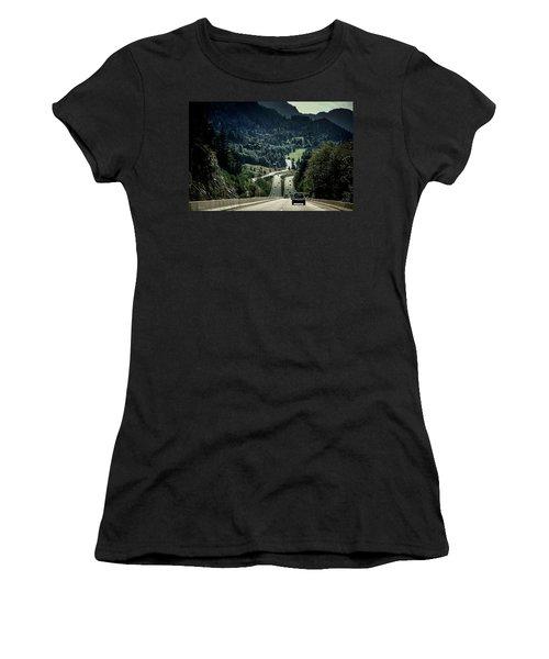 Sea To Sky Highway Women's T-Shirt