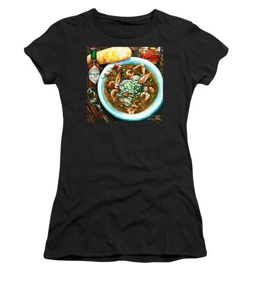 Seafood Gumbo Women's T-Shirt (Athletic Fit)