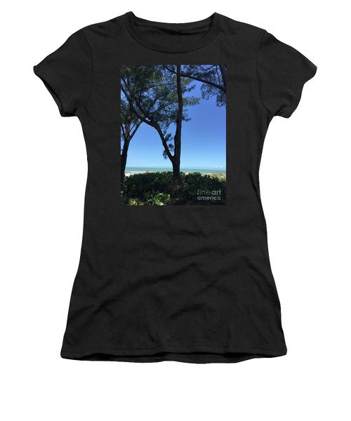 Seagrapes And Pines Women's T-Shirt (Athletic Fit)
