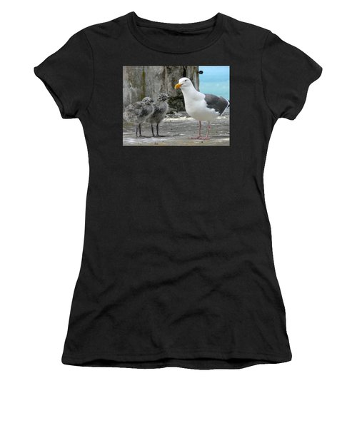 Seagull Family Women's T-Shirt (Athletic Fit)