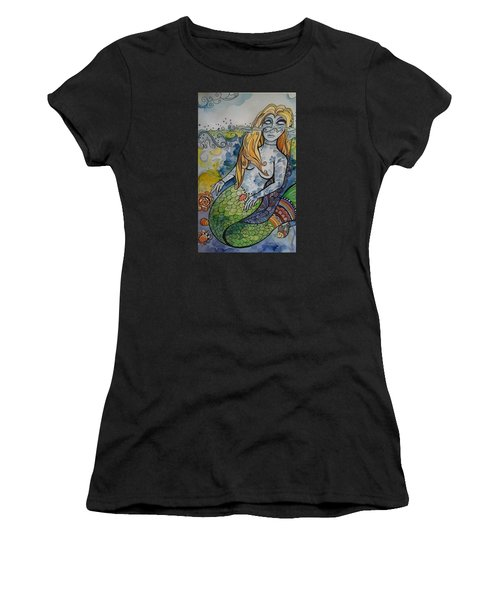 Searching Women's T-Shirt (Athletic Fit)