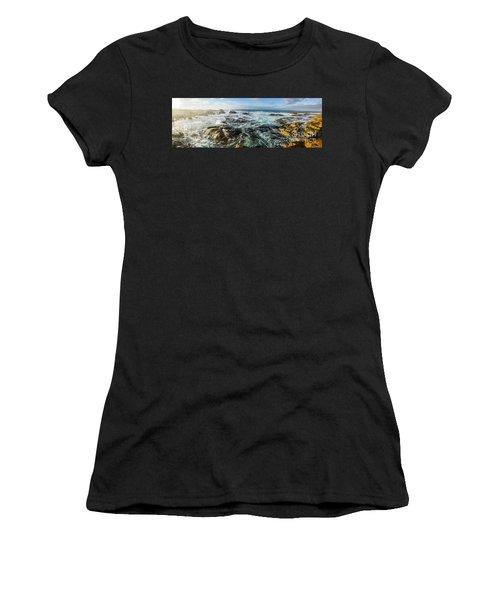 Seas Of The Wild West Coast Of Tasmania Women's T-Shirt