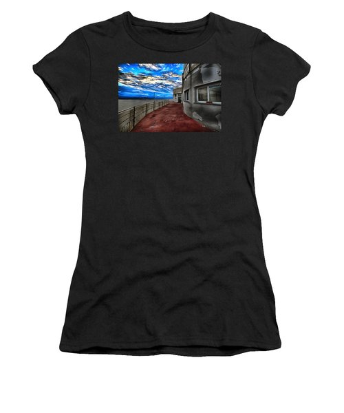 Seascape Atmosphere - Atmosfera Di Mare Dig Paint Version Women's T-Shirt