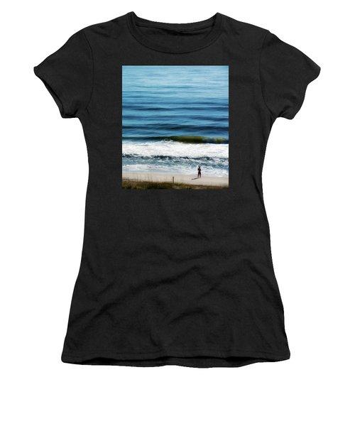 Seaside Fisherman Women's T-Shirt (Athletic Fit)