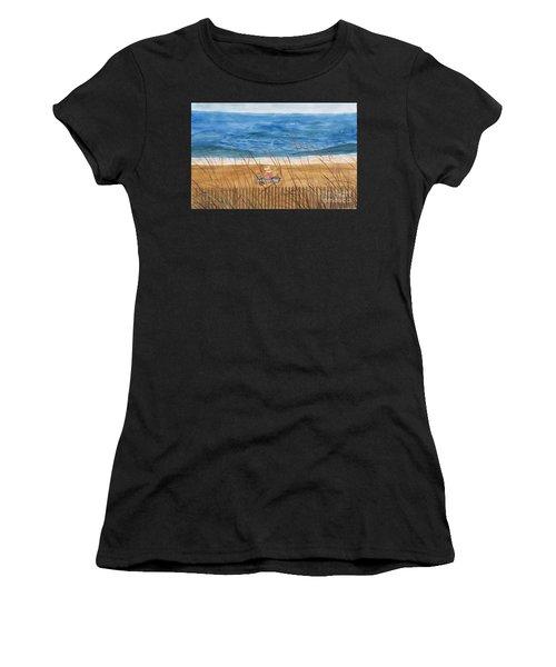 Seaside In Massachusetts Women's T-Shirt (Athletic Fit)