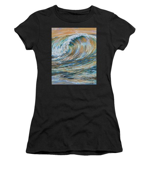 Seaspray Gold Women's T-Shirt