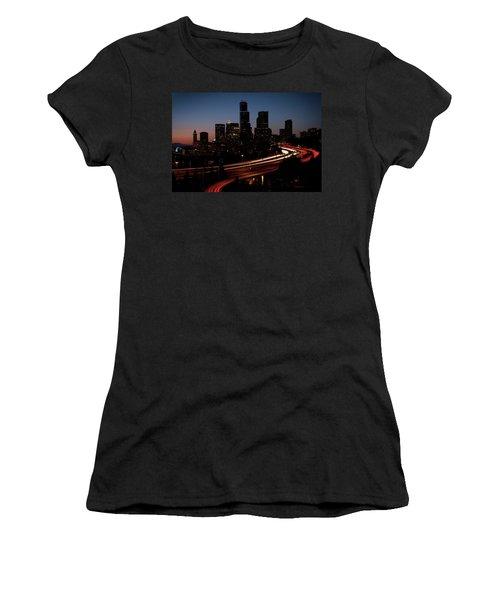 Seattle At Dusk Women's T-Shirt