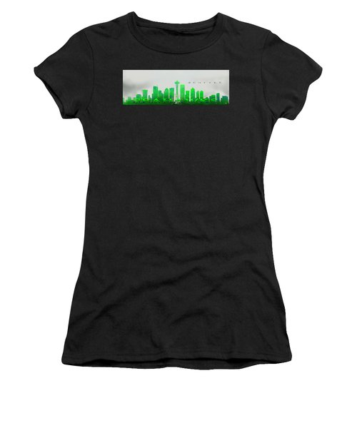 Seattle Greens Women's T-Shirt (Athletic Fit)