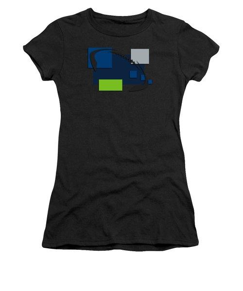 Seattle Seahawks Abstract Shirt Women's T-Shirt