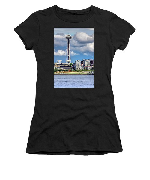Seattle Space Needle Hdr Women's T-Shirt