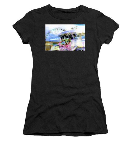 Seattle Washington 3 Women's T-Shirt (Athletic Fit)