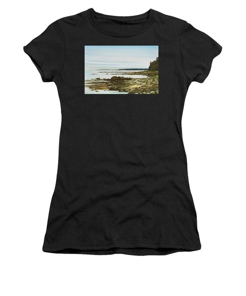 Seawall Mt. Desert Island Women's T-Shirt (Athletic Fit)
