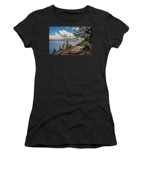 Second Crater View Women's T-Shirt (Athletic Fit)
