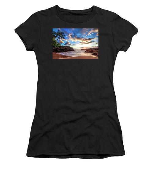 Secret Beach Women's T-Shirt (Athletic Fit)