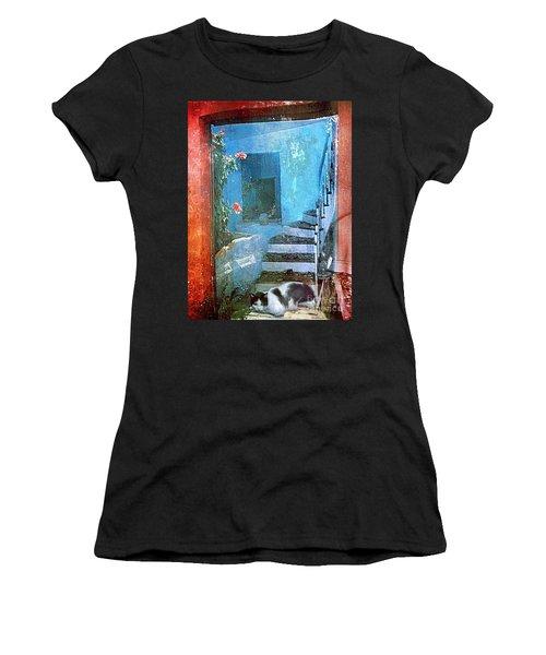 Secret Space Women's T-Shirt (Athletic Fit)