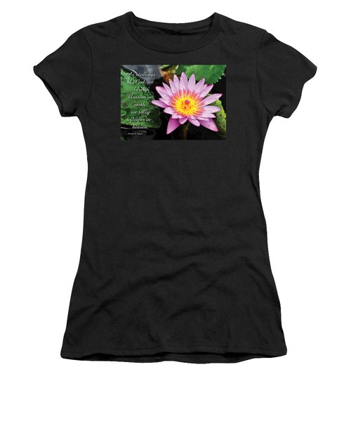 Seedlings Of God Women's T-Shirt