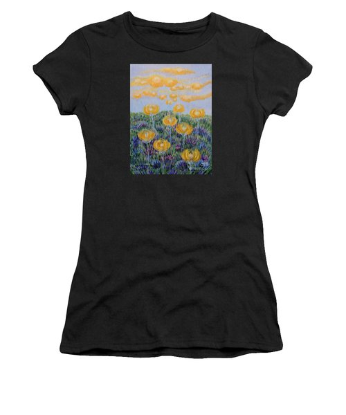 Seeing Through Women's T-Shirt (Athletic Fit)