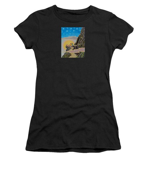 Seeking The Dragons Vast Treasure Women's T-Shirt (Athletic Fit)