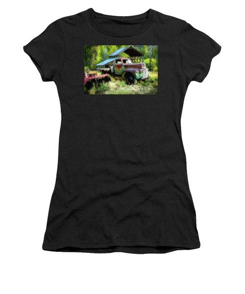 Seen Better Days - Ford Farm Truck Women's T-Shirt