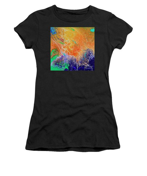 Deep Space Impressions 1 Women's T-Shirt (Athletic Fit)