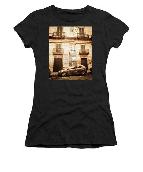 Segnali Stradali Women's T-Shirt (Athletic Fit)