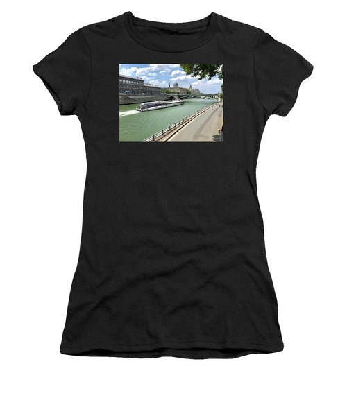 River Seine In Paris Women's T-Shirt