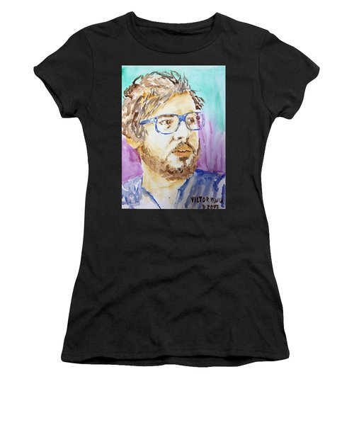 Self Portrait Of A Younger Me Women's T-Shirt (Athletic Fit)