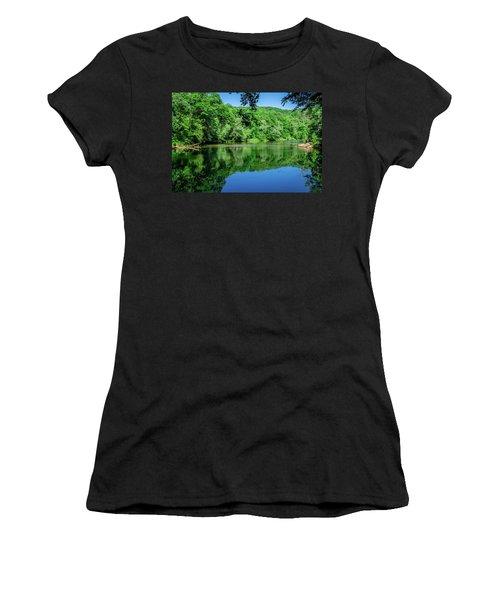 Semi Placid Stream Women's T-Shirt