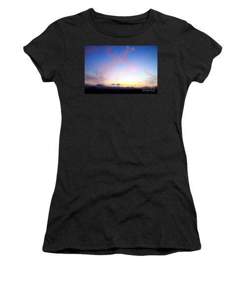 Send Out Your Light Women's T-Shirt (Athletic Fit)