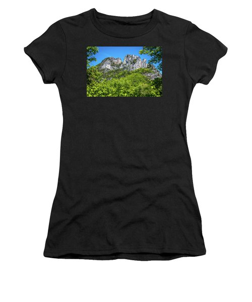 Seneca Rocks Women's T-Shirt (Athletic Fit)