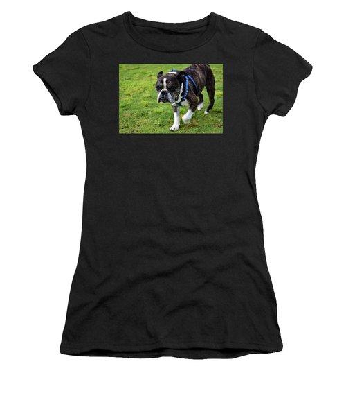 Leroy The Senior Bulldog Women's T-Shirt