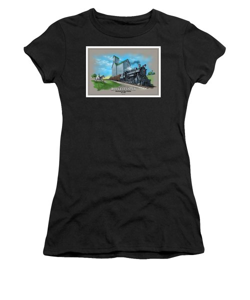 The Ross Elevator Sentinel Of The Plains Women's T-Shirt (Athletic Fit)
