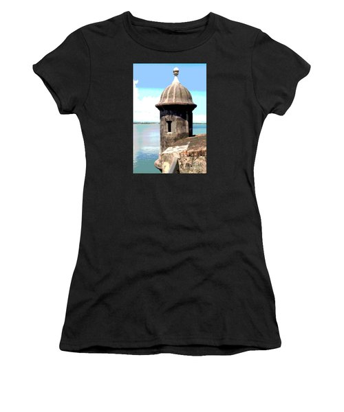 Sentry Box In El Morro Women's T-Shirt