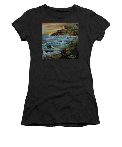 Sentry Women's T-Shirt (Junior Cut) by Roseann Gilmore