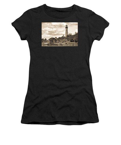 Sepia Lighthouse Women's T-Shirt