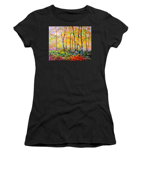 Serenade Of Forest Women's T-Shirt (Athletic Fit)