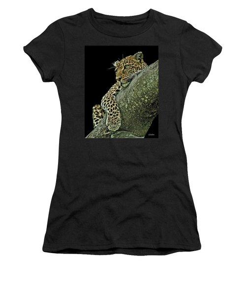 Serengeti Leopard 2a Women's T-Shirt