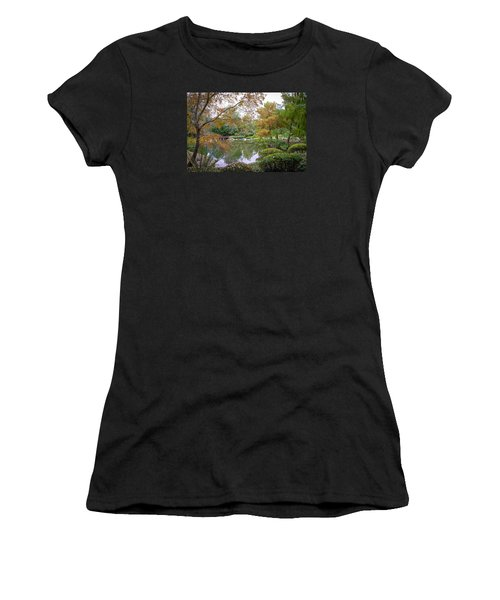 Women's T-Shirt (Junior Cut) featuring the photograph Serenity by Keith Hawley