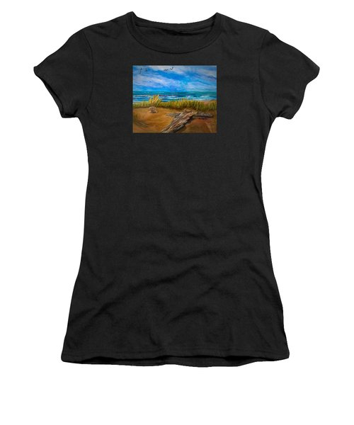 Serenity On A Florida Beach Women's T-Shirt