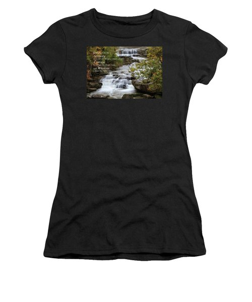 Serenity Prayer Women's T-Shirt