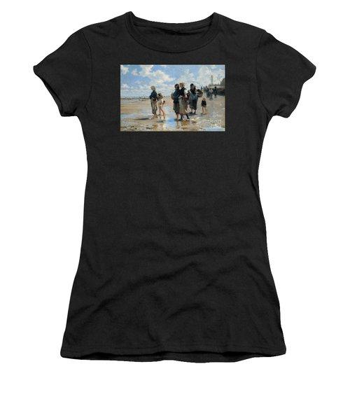 Setting Out To Fish Women's T-Shirt