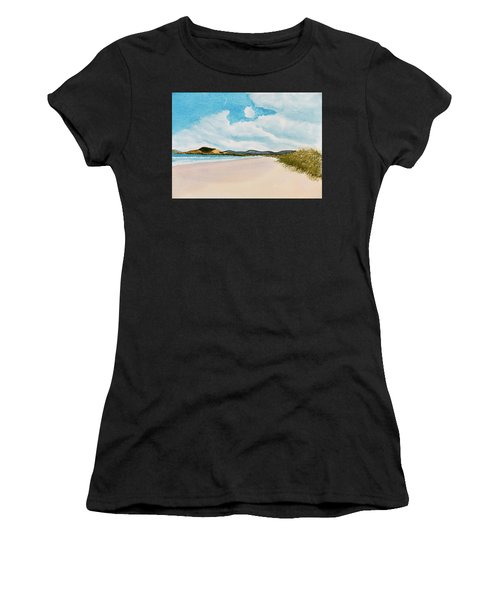 Seven Mile Beach On A Calm, Sunny Day Women's T-Shirt