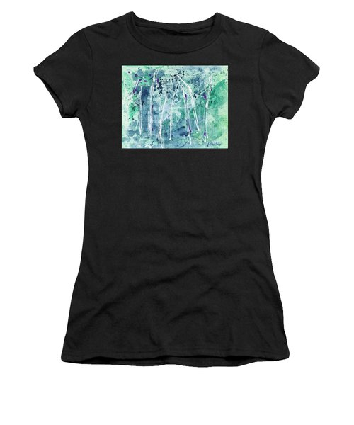 Women's T-Shirt featuring the painting Seven Sisters by Kathryn Riley Parker