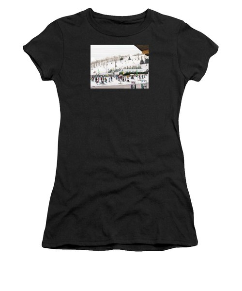 Seven Springs Stowe Slope Women's T-Shirt (Athletic Fit)