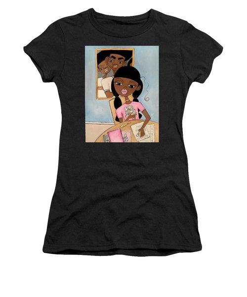 She Has Plans Women's T-Shirt (Athletic Fit)