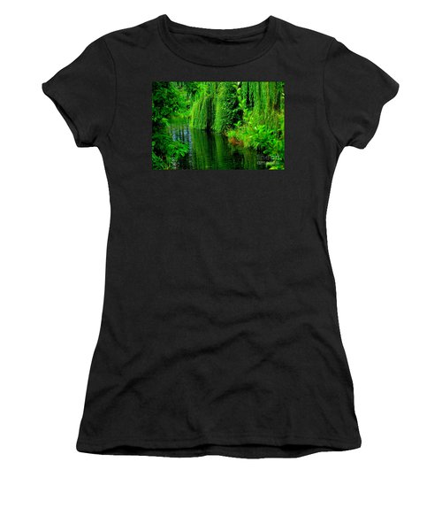Shade Tree Women's T-Shirt (Junior Cut) by Greg Patzer
