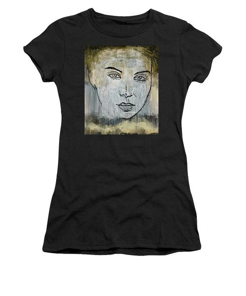 Shades Of Grey And Beige Women's T-Shirt