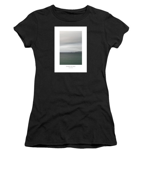 Women's T-Shirt featuring the digital art Shades Of Grey by Julian Perry