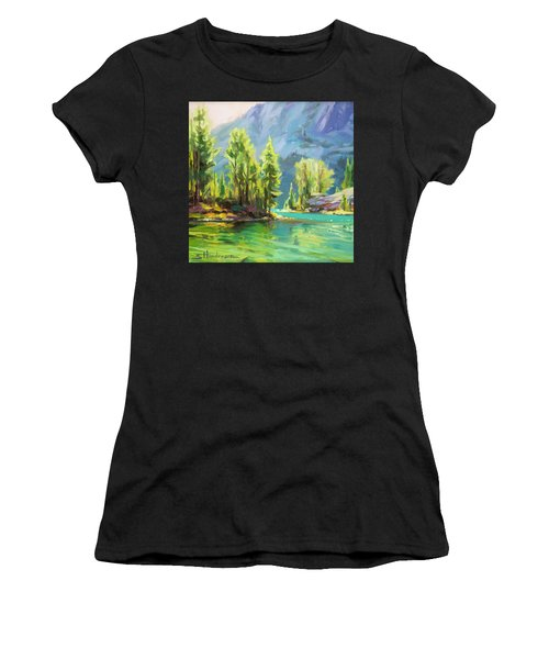 Shades Of Turquoise Women's T-Shirt